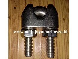 Jual KLEM SELING WIRE ROPE CLAMPS KUKU MACAN EIRE CLIP STAINLESS