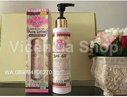 Jual Pure Lotion SPF 60 By Jellies Original Thailand