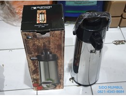 Jual Thermos Pencet Airpot Stainless Steel Elephant