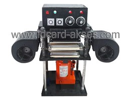 Jual MESIN ID CARD PRESS OVEN KAPASITAS PRESS 300-400 KARTU