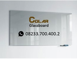 Jual glassboard white