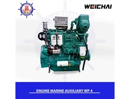 Jual Engine WP4 Series Marine Auxiliary WEICHAI For Generator Marine