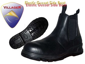 ELASTIC GUSSET SIDE BOOT