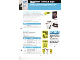 SAFETY SERIES Training & Signs