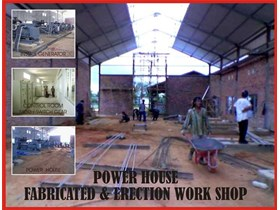 Power House, Genset, panel, and Electrical Controler