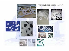 Teflon PTFE Sheet Rod Seal Ring Gasket Washer