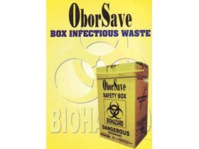 Obor Save Disposable Box Infectious Waste
