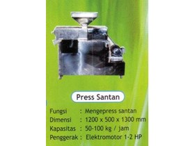 MESIN PRESS SANTAN VCO