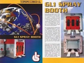 Oven Spray Booth for Body Repair