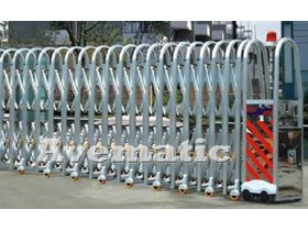 Electronic Folding Gate Retractable gate