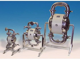 TAPFLO SANITARY AIR OPERATED DOUBLE DIAPHRAGM PUMPS