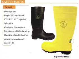 PVS SAFETY BOOTS WORKSAFE