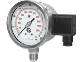 NUOVA FIMA - Pressure Gauges with transmitter, ATEX Version Dry or Liquide Filled, MX18 ( 8.X28)