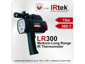 IRtek LR300 MEDIUM LONG RANGE INFRARED THERMOMETER