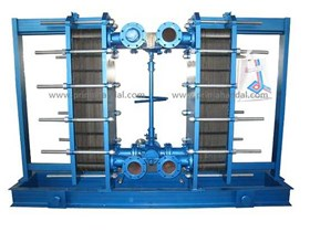 Plate Heat Exchanger, Double-Module for Non-Stop Operation 2