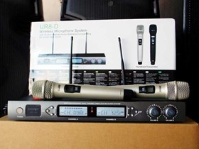 Shure UR8D Gold Color Limited Special Edition