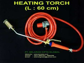 HEATING TORCH , STEEL NOZZLE T 19