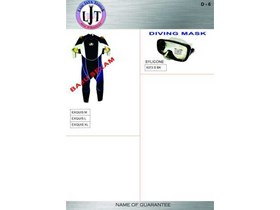 D-6 DIVING CLOTHES BAJU SELAM, DIVING MASK SYLICONE, EXQUISE