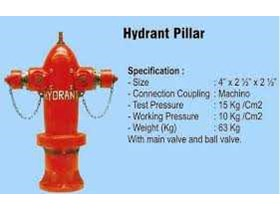 HYDRANT PILLAR, HYDRANT PILLAR TWO WAYS With Main Valve With Ball Valve Model: Machino & VDH Type: H-14AP Size: 4