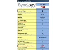 Jual NAS SYNOLOGY DS214se