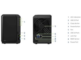 Jual NAS SYNOLOGY DS214