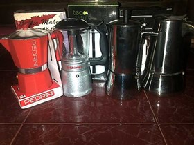 mokapot moka pot coffee
