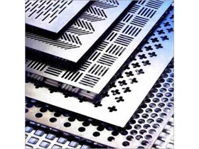 Perforated Plate Plat Lubang