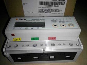 Digital Power Analizer 3Phase Double Tariff THERA TEM065D