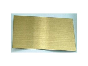 Plat Warna Stainless Steel Color Stainless Plate HL Gold