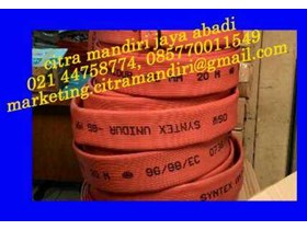 FIRE HOSE RED RUBBER