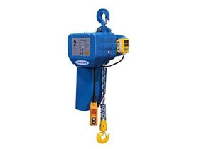 Distributor Agen Supplier Industri Electric Chain Hoist Kukdong 2 ton