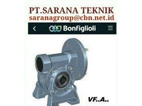 BONFIGLIOLI GEAR MOTOR HELICAL BEVEL PT SARANA TEKNIK BONFIGLIOLI WORM GEAR MOTOR- GEAR MOTOR PLANETARY - GEARBOXES