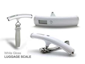 Luggage Scale White Gloss