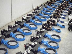 VALTORQUE PNEUMATIC DOUBLE ACTING WITH BUTTERFLY VALVE