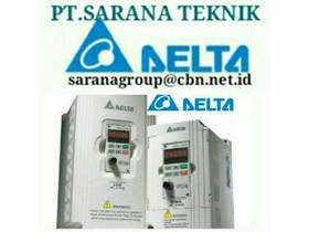 PT SARANA DELTA INVERTER DELTA INVERTER SERI VFB MADE IN TAIWAN 1 HP TO 150 HP SEI VCD VE C200