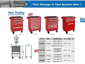 TOOLS TROLLEY CABINET