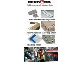 Agen Table Top Chain Merk Rexnord