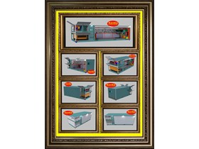 Box Container Workshop Hydraulic System