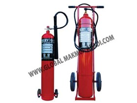SERVVO C900 C2300 C4500 CO2 CARBON DIOXIDE FIRE EXTINGUISHER WHEELED