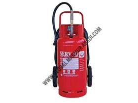 SERVVO D 10000 FE36 WHEELED TROLLEY CLEAN AGENT FIRE EXTINGUISHER