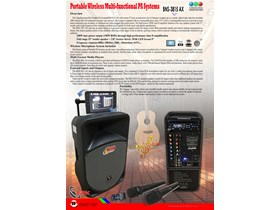 Multi Functional Mobil Performance System BNS-3815 AX