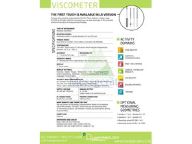 Viscometer Digital First Touch