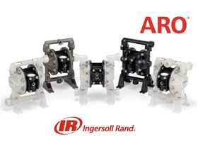 Ingersoll-Rand ARO Compact-Series Air Operated Double Diaphragm Pumps