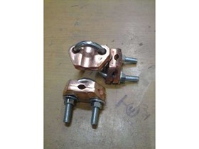 CLAMP GROUNDING/ CLAMP U - BOLT SINGLE/ U-BOLT ROD TO CABLE CLAMP