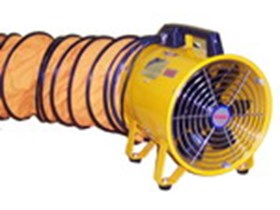 Portable Ventilator Blower Fan 12inch with Hose 10Meter 220V/1Phase