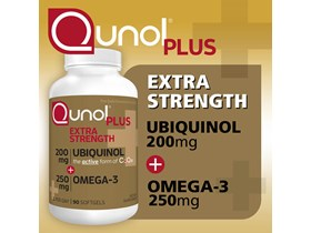Qunol Plus Extra Strength Ubiquinol, 90 Softgels.