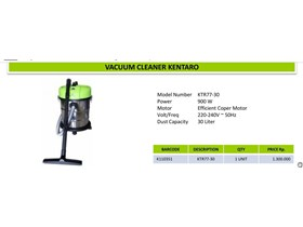 Vacum cleaner kentaro 30 liter barang baru ready stock
