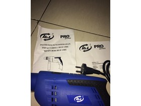 Electric drill merek H&L HLD 13-RE barang baru ready stock