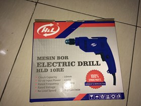 Electric Drill HLD-10RE barang baru ready stock