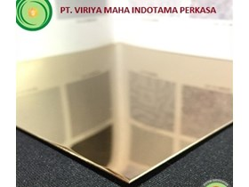 PLAT STAINLESS  CHAMPAGNE